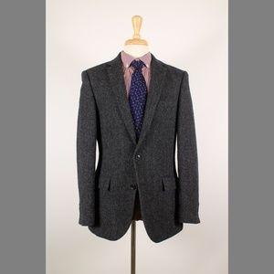#JCrew Ludlow 40R Herringbone Tweed Blazer 49-H